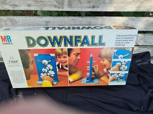 Vintage Downfall Game 1977 By MB Games - 100% Complete