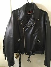 Men's Brooks Leather Jacket MADE IN THE USA