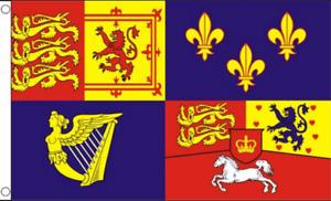 Royal Standard Banner 1714-1801 House of Hanover Flag 5'x3' British History