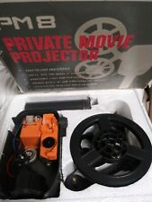 PM8 Private Movie Projector Tested Runs Vintage Rare!
