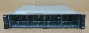 Dell Compellent SC4020F Storage Array 24-Bay Dual 8Gb FC Controller 8G-FC-4