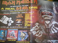Iron Maiden Real Dead One 1993 Pull Out Advert to frame? from Kerrang