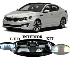 LED Package - Interior + License + Vanity + Reverse for Kia Optima (12 pieces)