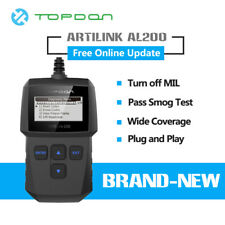 2020NEW! TOPDON Car Engine Fault Code Reader OBD2 EOBD CAN Reset Tool Scanner