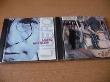 2 CD Set Wolf Maahn: Kleine Helden & Libero