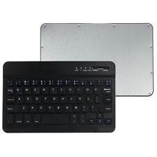 Ultra Slim Black Aluminum Wireless Bluetooth Keyboard For Windows IOS Android PC