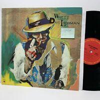 David Liebman What It Is Columbia 36581 VG++/VG+ Jazz LP