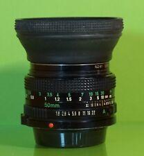 Canon lens FD 50mm 1:1,8 lente para Canon FD