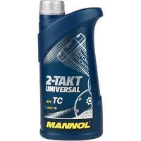 1 Liter Orignal MANNOL Motoröl 2-Takt Universal API TC Engine Oil Öl