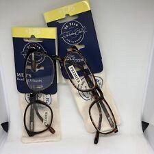 Dr. Dean for ICU Eyewear Mens +1.75 Lot of 2 Reading Glasses Readers