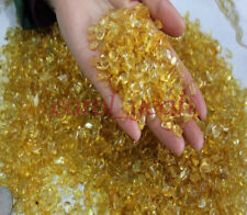 4mm 100g Natural Yellow Crushed Gravels Stones Flower Fishbowl Decoration