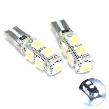 2x Blanc DEL 9-SMD No Error Free CANBUS Numéro/Licence Plaque Ampoules Lampes