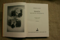 Fachbuch DDR Fototechnik, Kameratechnik Exakta, Kleinbildfotografie, DDR 1953