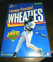 Ken Griffey Jr Seattle Mariners vintage Honey Frosted wheaties box