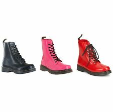 Dr. Martens Lace Up Synthetic Boots for Women