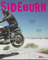 SIDEBURN - Flat Track Magazine No.34 (NEW COPY)*Post included to UK/Europe/USA