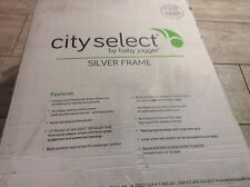 Baby Jogger® city select® Single Stroller in Onyx/Silver - brand new - freeship