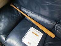 1961 Hank Bauer Game Used Baseball Bat PSA Certified PSA 8 World Series Year