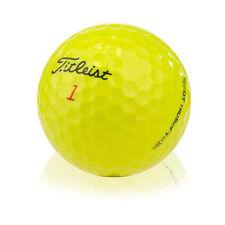 24 TITLEIST DT TRUSOFT YELLOW GOLF BALLS  PEARL/ GRADE A LAKE BALLS FREE P&P