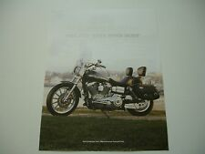 2003 HARLEY DAVIDSON 100TH FXDL LOWRIDER CUSTOM OEM BROCHURE SPEC SHEET