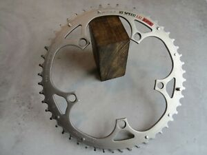 A Very Nice Campagnolo Ultra Drive EPS 52-Tooth 135mm BCD Crankset Chain Ring