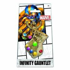 Marvel Infinity Gauntlet Gold Key Chain - Limited Edition Exclusive Thanos RARE