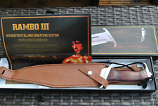 John Rambo Rambo 3 Jagdmesser First Blood Part 3. Signature Edition-.