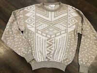Vintage London Fog Mens 3XLT 80's Coogi Style Retro Cosby Biggie Ugly Sweater