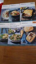 6 Waitrose recipe cards - all January 2014