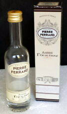 PIERRE FERRAND Ambre 1er Cru De Cognac EMPTY MINI BOTTLE W/Gift Box -No Contents