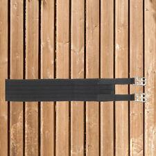 Busse Sattelgurt Textil Long schwarz Gr.80cm