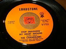 THE CHANDELIERS - STOP DRAGGING MY HEART AROUND  / LISTEN - GIRL GROUP POPCORN