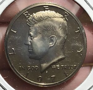 1971-S KENNEDY HALF DOLLAR PROOF.  COLLECTOR COIN FOR SET OR COLLECTION. 1