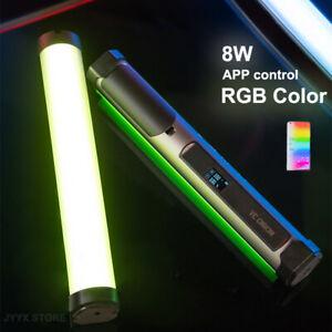 YC Onion Energy Tube 8W Handheld RGB LED Video Light Stick 3200-6500 APP Control