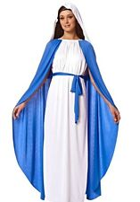 Virgin Mary Adult Religious Mother Costume Christmas Easter Fancy Dress