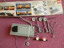 VINTAGE 1980's Lego 7861 Lighting Set 12V/7864 Train Transformer tested