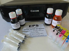 Edible Printer Starter Kit Canon IP7250 Refill Ink Cartridges, Ink, Wafer Paper