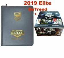 2019 RUGBY LEAGUE NRL ELITE Trading Cards Sealed Box 24 Packs + ALBUM IN STOCK