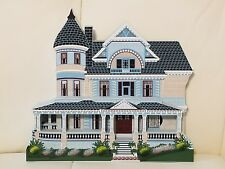 """Shelia's Wooden Houses Colllectible """"Queen Anne Mansion"""" Eureka Springs Arkansaa"""