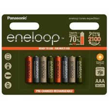 8x AAA Panasonic Eneloop Expedition Limited Edition NK213-C AUD