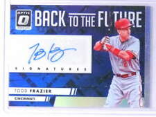 2016 Donruss Optic Back to the Future Todd Frazier Autograph #D03/25 *75596