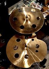 """Paiste 16"""" EFX / Sabian 15"""" EFX Trash Smash Cymbals."""