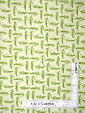 Animal Fabric - Alligator Crocodile Green Yellow C2519 Timeless Treasures - Yard