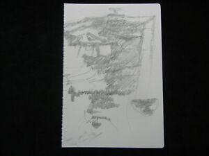Joseph Beuys Granolithographie 1975 aus Codices Madrid  -  Motiv 62