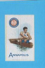c1910s S22 Murad Cigarettes tobacco silk ANNAPOLIS  (NAVY) Rower / Crewe   Nice!