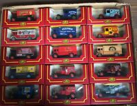 15 Cameo Vintage Diecast Cars Boxed Joblot