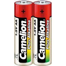 Set de 2 pilas/batería Camelion Alcalina Plus AA LR06 bajo celofán