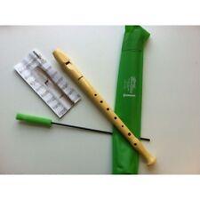 HOHNER 9508-10 Flauti Dolci Soprano Diteggiatura Tedesca Bundle Speciale Scuola