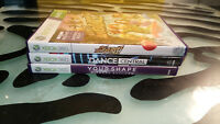 Xbox 360 Kinect Games lot of 3 Adventures Dance Central Your Shape Complete