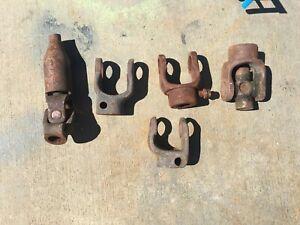 35 36 37 38 39 Vintage Spicer Steering Column Couplers U Joint Packard Airflow